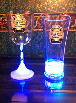 Beerfest Pilsner Mug and Wine Glass
